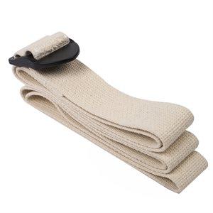 100% cotton yoga strap