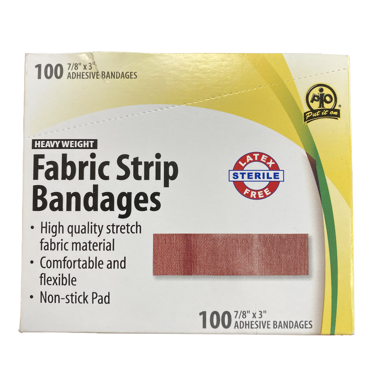 Fabric strip bandages
