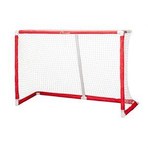 "Foldable hockey goal with net, 72""x48""x24"""